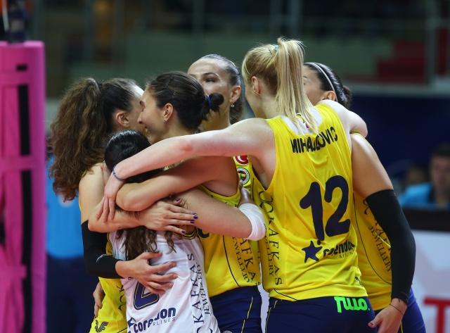 Fenerbahçe Opet 3-0 Atlasglobal Yeşilyurt