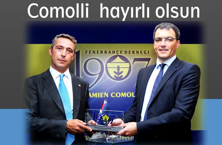 Damien Comolli Geliyor..