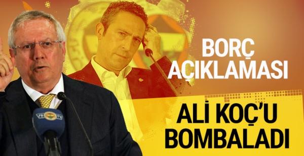 Aziz Yıldırım'dan Ali Koç'a sert cevap