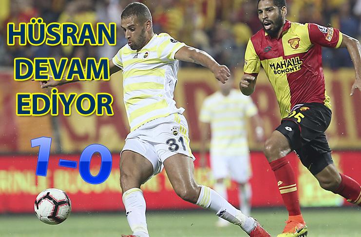 Göztepe 1-0 Fenerbahçe