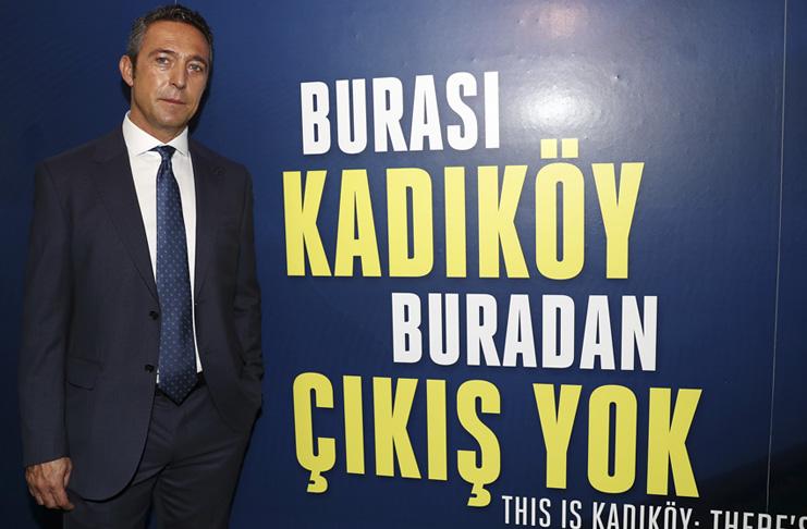 Fenerbahçeli taraftarların başkan Ali Koç'a güveni tam