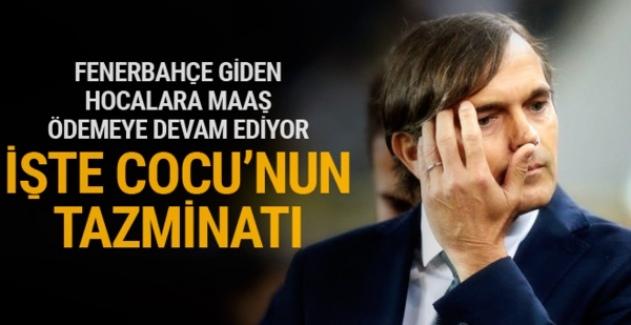Fenerbahçe'nin Cocu'ya ödeyeceği tazminat