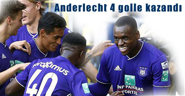 Fenerbahçe'nin rakibi Anderlecht 4 golle kazandı