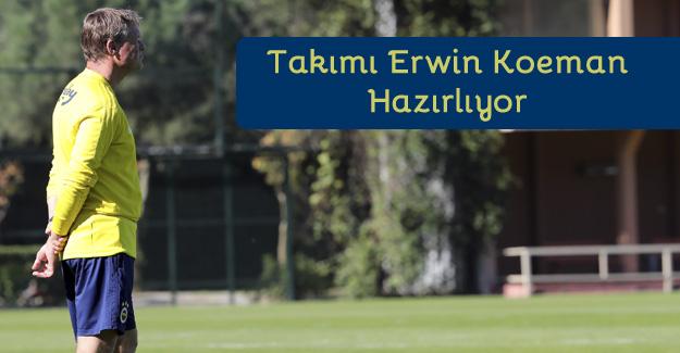 Fenerbahçe Phillip Cocu'suz ilk idmanına çıktı!