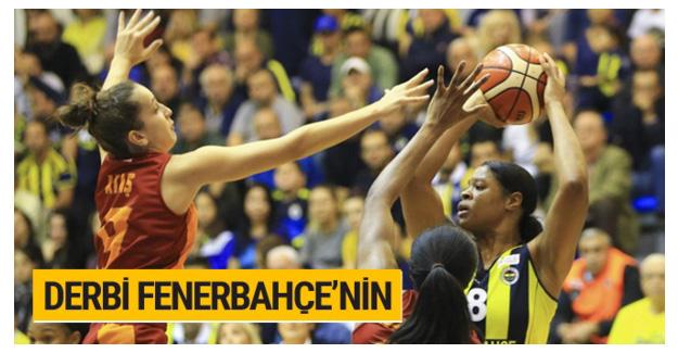 Fenerbahçe potada Galatasaray'ı devirdi