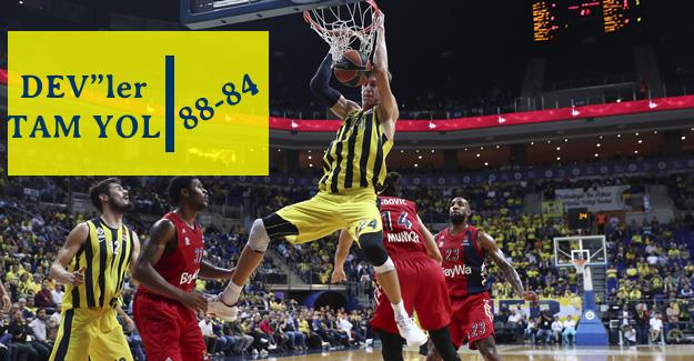 Fenerbahçe 88-84 Bayern Münih