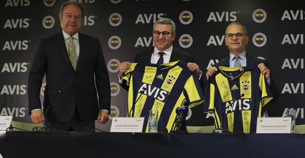 Fenerbahçe'nin yeni forma göğüs sponsoru Avis