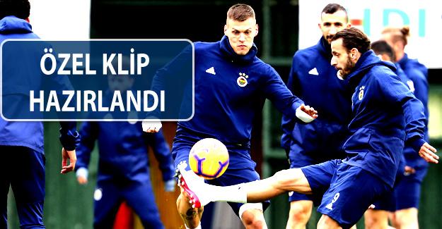 Fenerbahçeli futbolcular derbiye özel hazırlanıyor