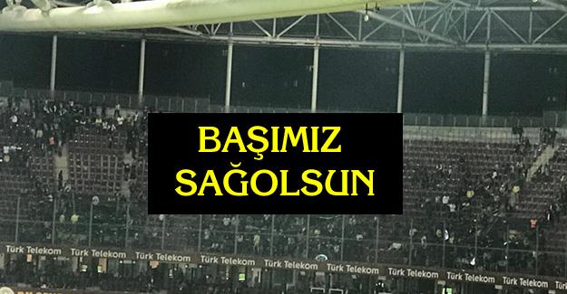 Fenerbahçeli taraftarlar stadı terk etti