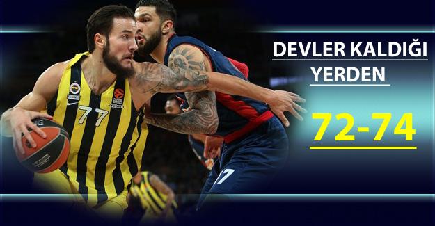 Kirolbet Baskonia 72-74 Fenerbahçe