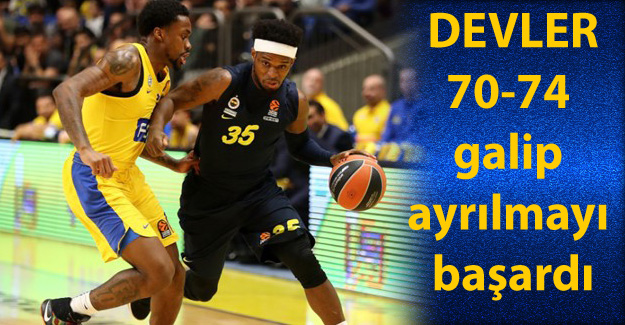 Maccabi Fox 70-74 Fenerbahçe