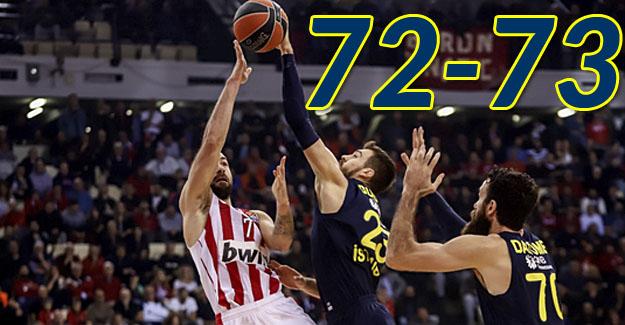 Olympiakos 72-73 Fenerbahçe
