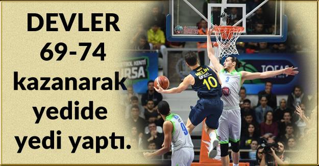 Tofaş 69-74 Fenerbahçe