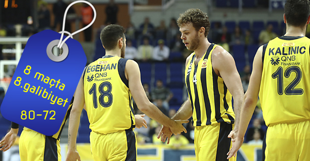 Fenerbahçe 80-72 Pınar Karşıyaka