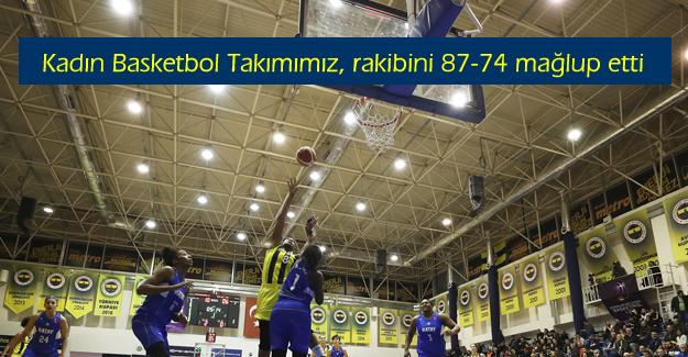 Fenerbahçe 87-74 Hatay Büyükşehir Belediyespor