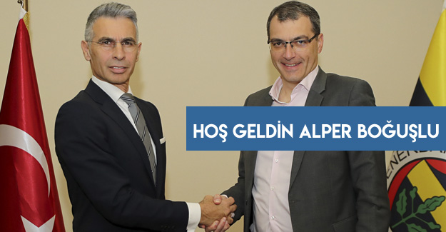 Fenerbahçe'de Alper Boğuşlu resmen duyuruldu