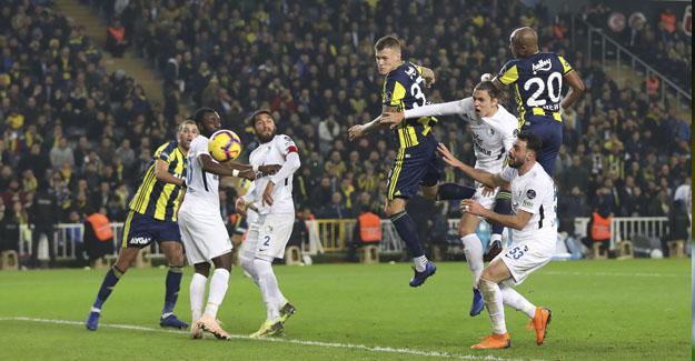 Fenerbahçe galibiyeti koruyamadı