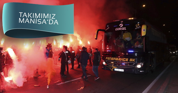 Fenerbahçemize muhteşem karşılama