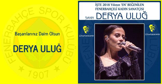 Yılın En Beğenilen Fenerbahçeli Kadın Sanatçısı Belli Oldu..