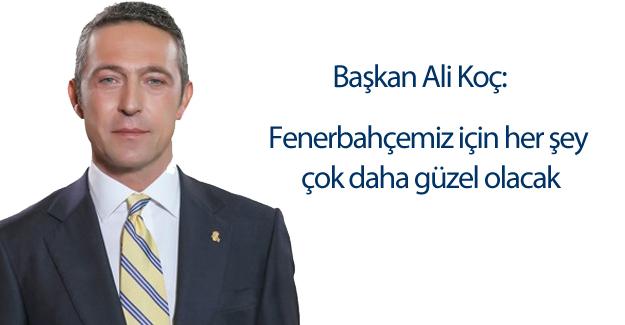 Başkanımız Ali Koç'un Fenerbahçe Dergisi'nin Ocak Sayısındaki Başyazısı