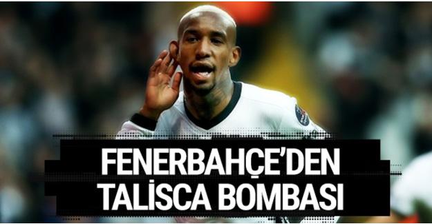 Fenerbahçe'den Anderson Talisca bombası!