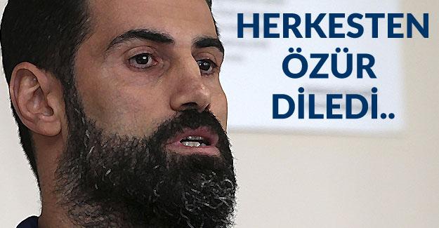 Volkan Demirel Özür Diledi..