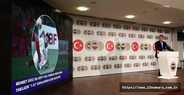 Başkan Ali Koç'un basın toplantısı