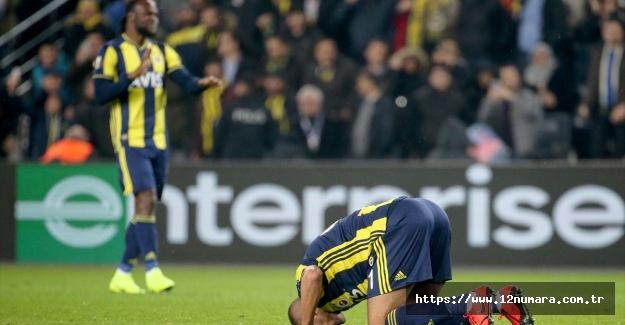 Fenerbahçe Zenit'i Slimani ile yıktı