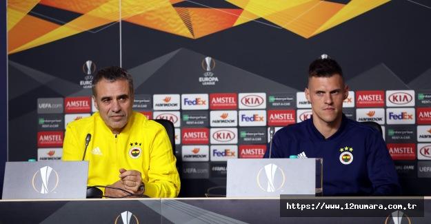 Zenit maçı basın açıklamaları