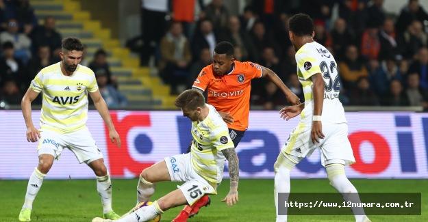 Başakşehir 2 - 1 Fenerbahçe