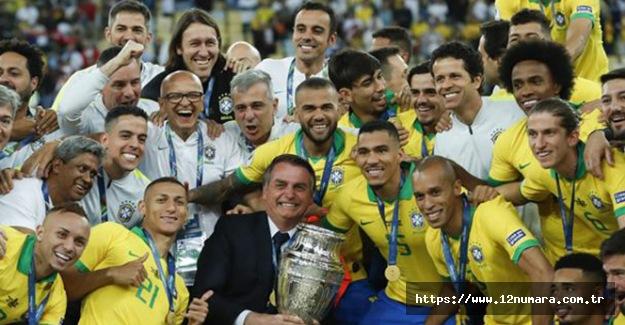 2019 Kupa Amerika'da şampiyon Brezilya