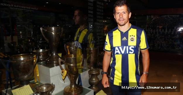 Emre Belözoğlu Fenerbahçe'ye geri döndü