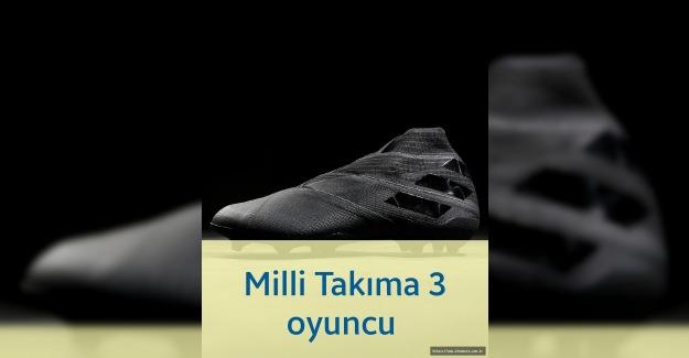 Fenerbahçemizden Milli takıma 3 futbolcu