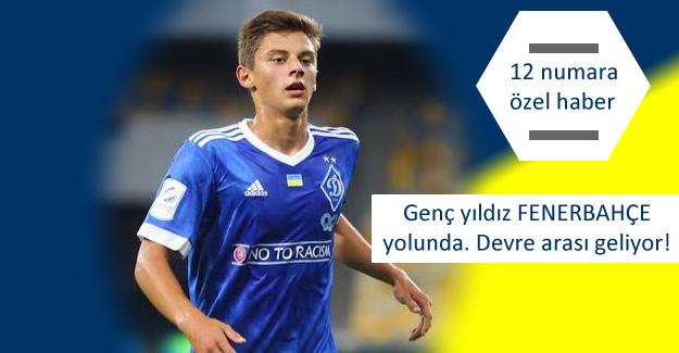 Fenerbahçe için Vitaliy Mykolenko...