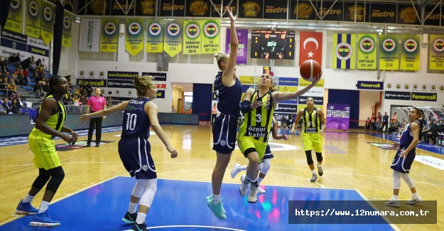 Fenerbahçe Öznur Kablo 62-59 Hatay BŞB