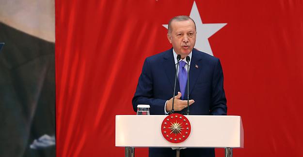 YDK üyemiz olan Cumhurbaşkanımız Recep Tayyip Erdoğan önemli açıklamalarda bulundu