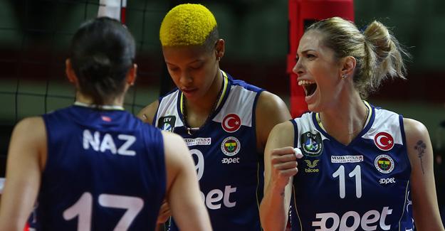 Fenerbahçe Opet 3-0 Budowlani Lodz