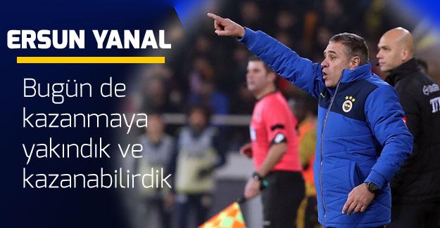 Yanal: Oyuncularımız Fenerbahçe'yi zirveye çıkarmak için mücadele edecek