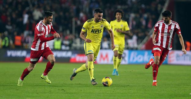 Demir Grup Sivasspor 3-1 Fenerbahçe