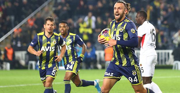 Fenerbahçemiz'den evinde farklı galibiyet