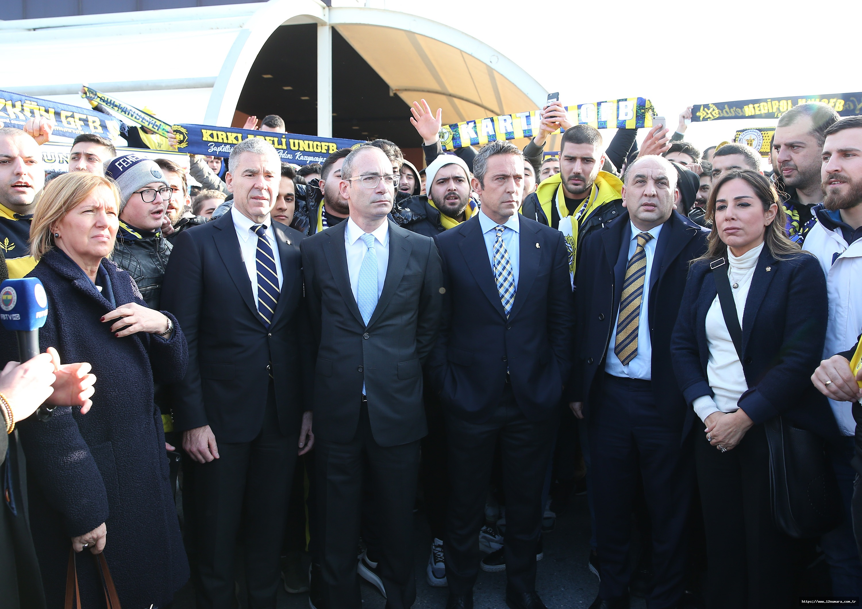 Ali Koç: Bu sadece Fenerbahçe'nin değil; Türkiye'nin davasıdır