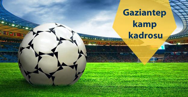 Fenerbahçemizin Gaziantep kamp kadrosu