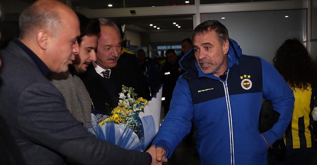 Futbol A Takımımız Kayseri'ye ulaştı..