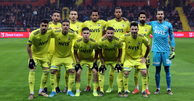 Hes Kablo Kayserispor 0-0 Fenerbahçe