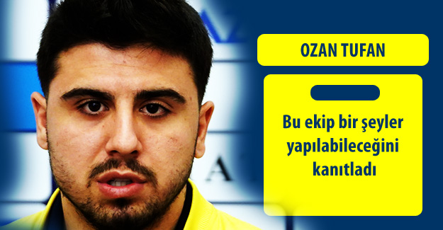 Ozan Tufan: Önemli olan Fenerbahçe'de oynamak