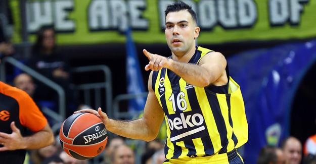 Kostas Sloukas ile yollar ayrıldı..