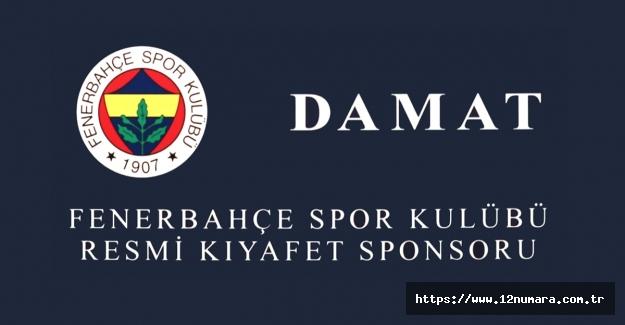 Damat, Fenerbahçemizin yeni sezonda da 'Resmi Kıyafet Sponsoru' oldu