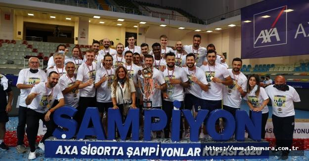 AXA Sigorta Şampiyonlar Kupası Fenerbahçe HDI Sigorta'nın