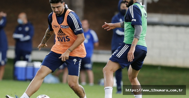 Fatih Karagümrük maçı hazırlıkları devam etti..