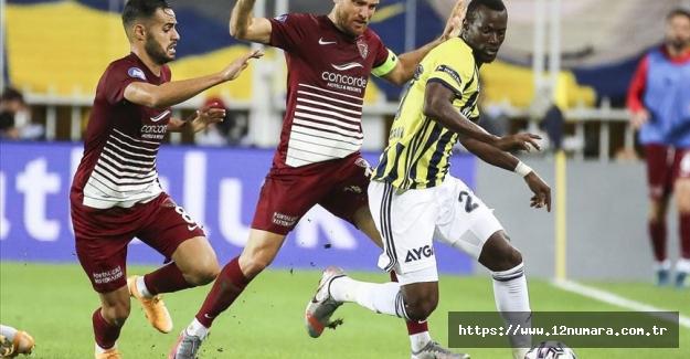 Fenerbahçe evinde kazanamadı...